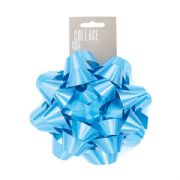 Large Blue Gift Bow